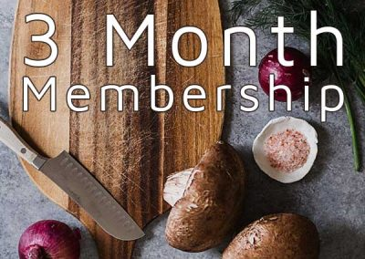 Nourish Appalachia Membership (3 Month)