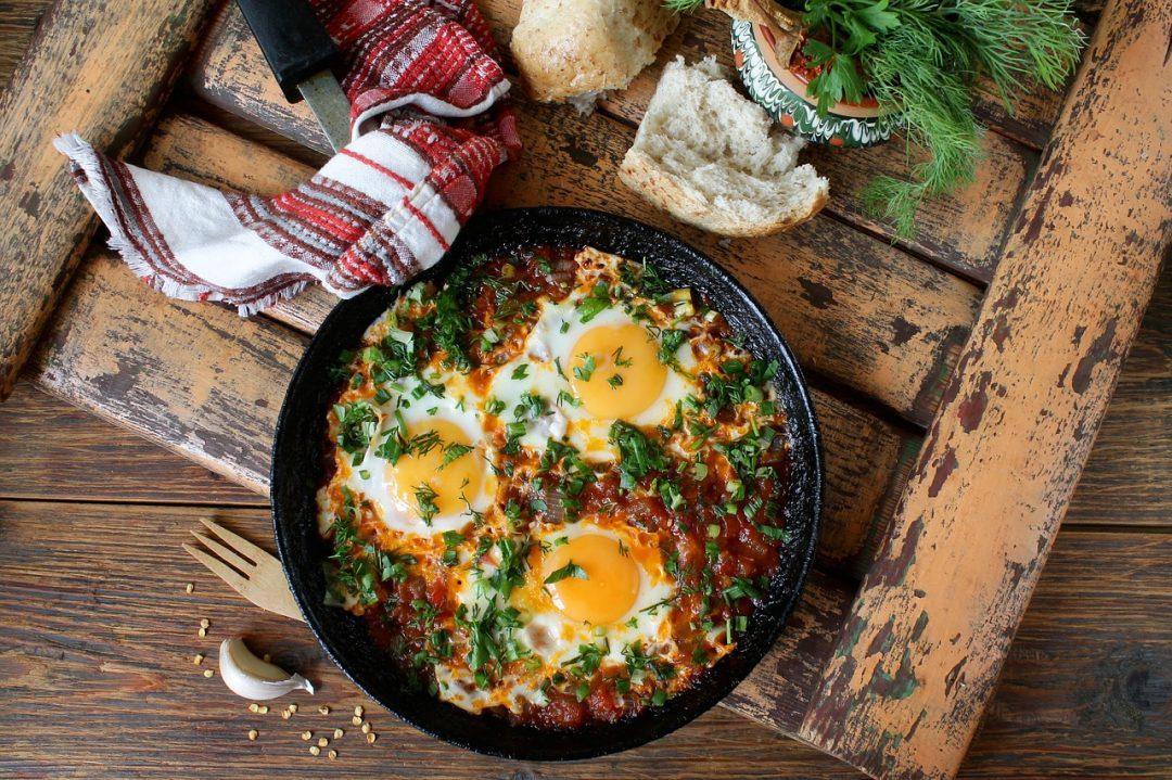 Egg and Sweet Potato Breakfast Scramble