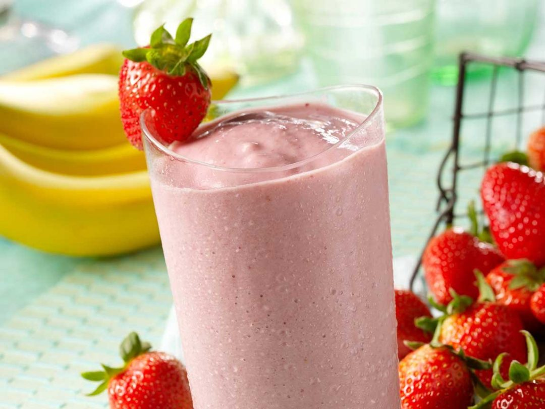 Strawberry Sunshine Smoothie